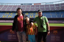 Fanreis maart 2017 - in Camp Nou